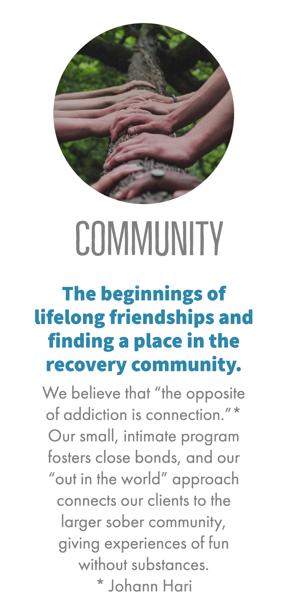Community Holistic Recovery