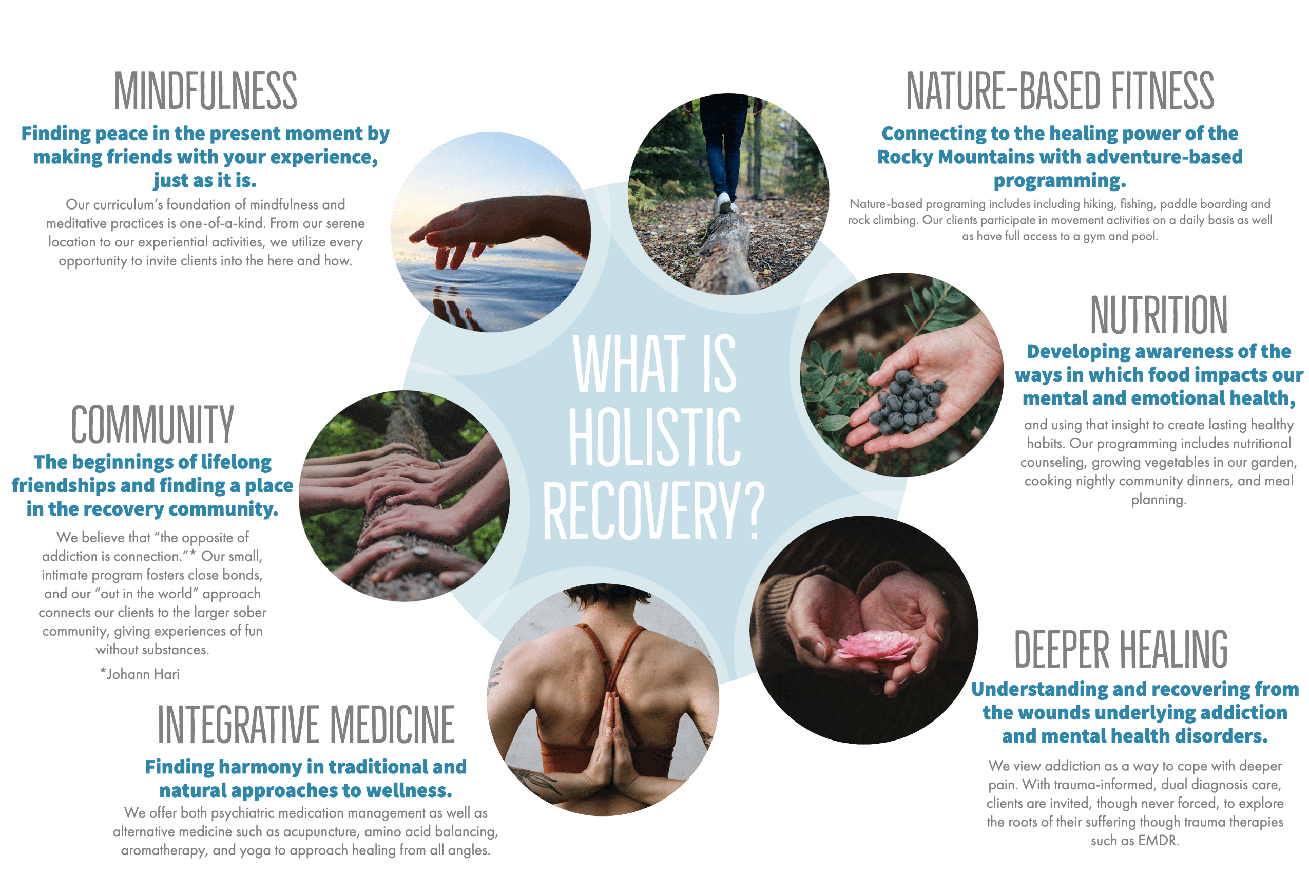 What is holistic recovery
