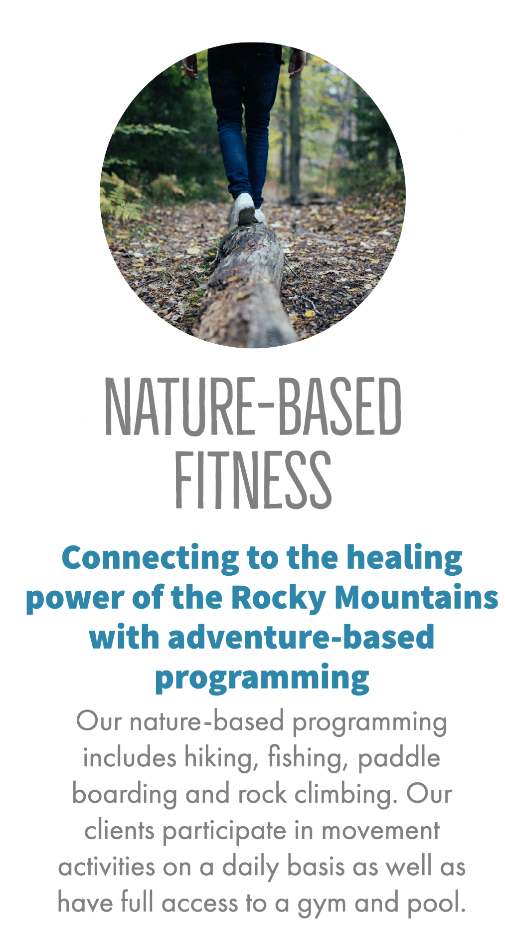 Nature-Based Fitness Holistic Recovery